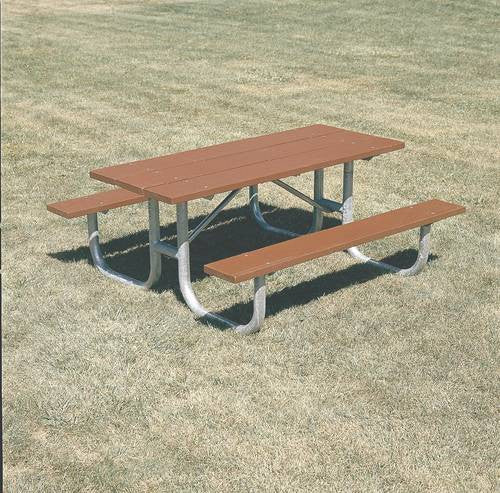 HeavyDuty Durable Wood Picnic Table L Redwood Stain Finish - Picnic table finish