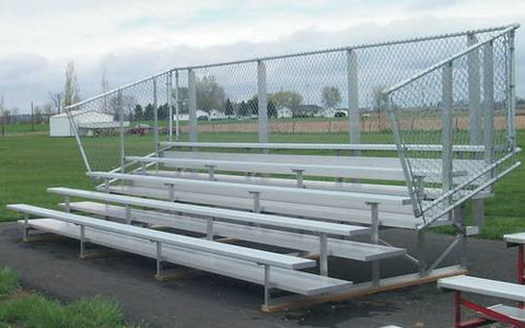 Model shown: 26460 (5-Row Premium Bleacher).