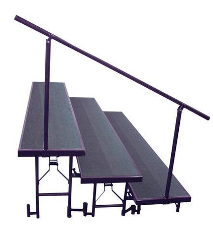 3-Level Side Rail for Portable Standing Risers
