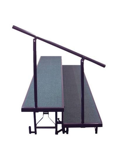 2-Level Side Rail for Portable Standing Risers