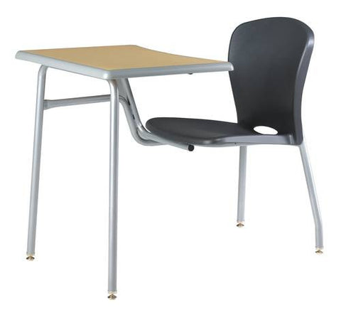 Accomplish® Single Entry Combo Desk with Laminate Top