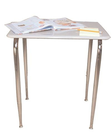 sturdy student desk with hard plastic top