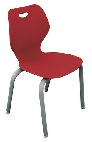 "Intellect Wave™, 4-Leg Stack Chair, 18"" Seat Height"