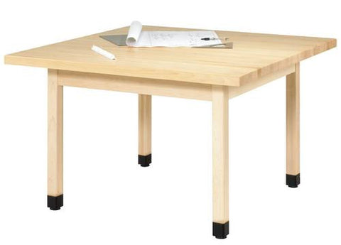 4-Station Table with Maple Top