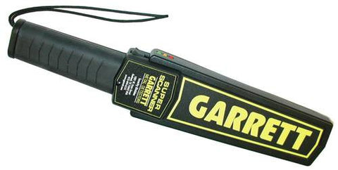 Garrett Metal/Weapon Detector, Hand-Held Super Scanner