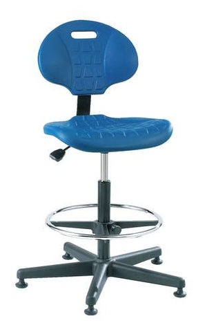 Ergonomic Art and Drafting Stool with 5-Star Base and Glides
