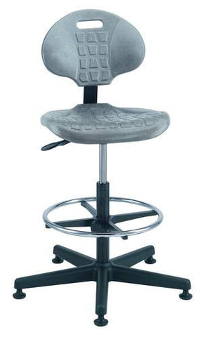 Ergonomic Multifunction Art and Drafting Stool with 5-Star Base and Glides