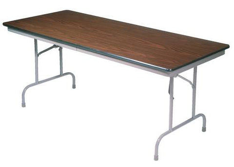 "Super Strength Folding Table, Laminate Top, Honeycomb Core, 30"" W x 60"" L x 29"" H"