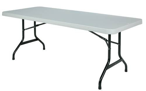 Lightweight Poly Folding Table 30 X 72 Atd Capitol