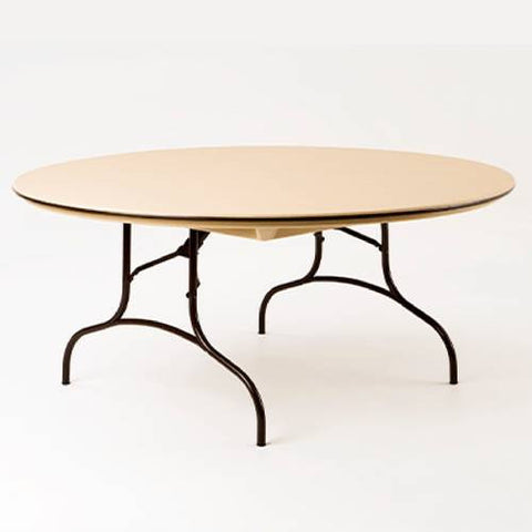 Mity-Lite Folding Table, Round, 66""