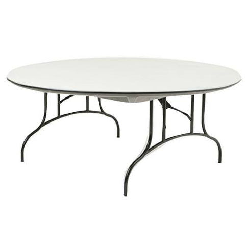 Mity-Lite Folding Table, Round 72""