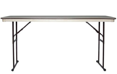 "Mity-Lite Folding Table, 36"" x 72"", Adjustable Height"