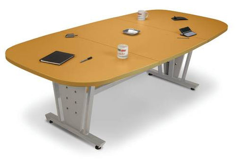 "Contemporary Conference Table, 93-1/2"" W x 47-1/4"" D 3-Piece Top"