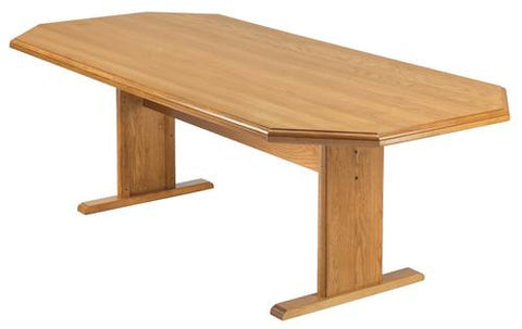 "Octagonal Conference Table, 120"" x 46"""