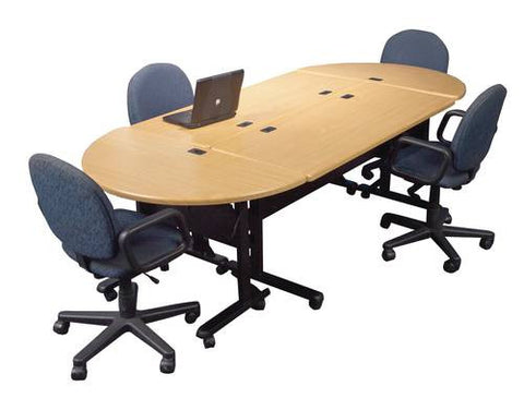 Mobile Flip-Top Modular Conference Table