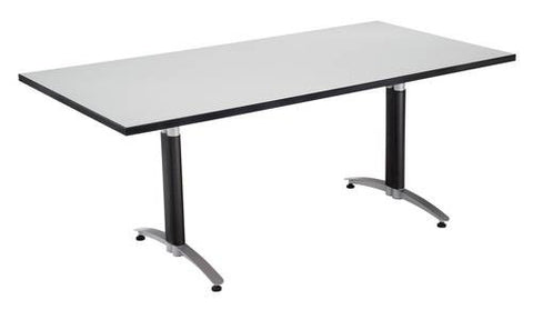 "Mesh Base Conference Table, 72"" x 36"""