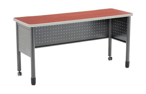 "Mesa Series Mobile Training Table, 59"" W x 20"" D x 29"" H"