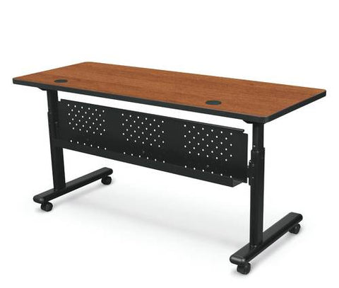 "Model 411580 Modesty Panel shown with 60""-wide Flipper Table."