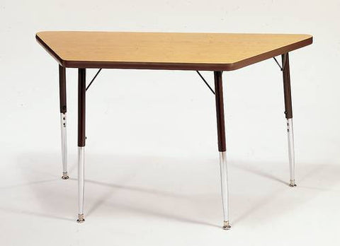 "Merit II Trapezoidal Activity Table, 24"" x 24"" x 24"" x 48"""