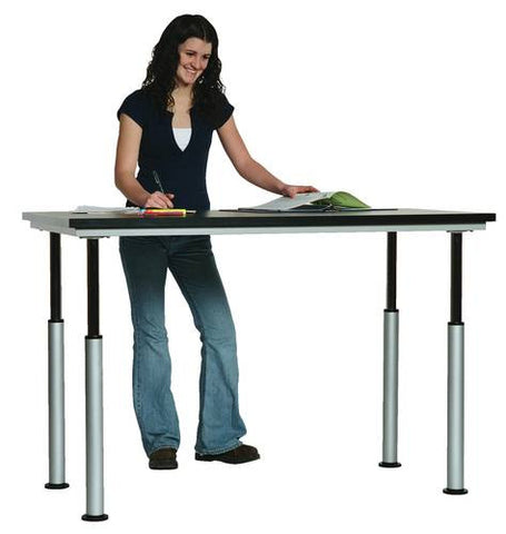 "Adaptable Table, Laminate Top, 60"" x 30"""