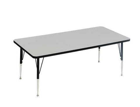 "EconoLine Activity Table with Adjustable Height Legs, 24"" x 48"""