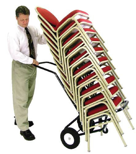 hand truck for stacking chairs atd capitol