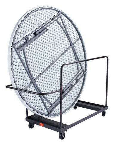"Table Truck for 48"" and 60"" Round Folding Tables"