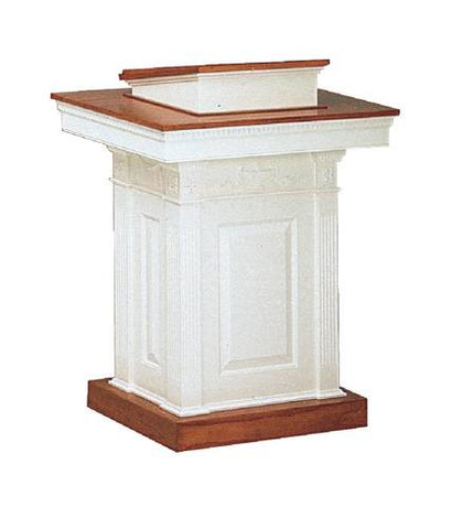 Colonial Style Wood Pulpit