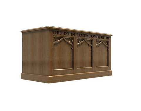 200 Series Gothic Style Portable Baptistry/Communion Table