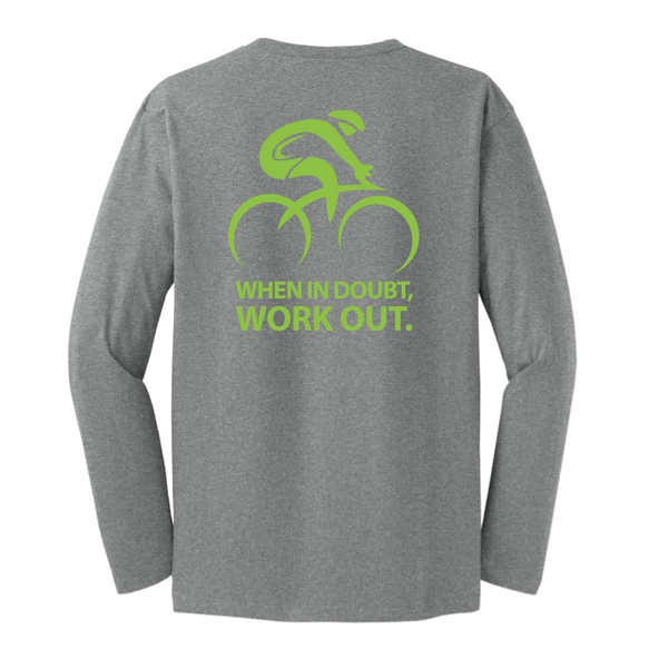 When In Doubt Work Out Cotton Shirt