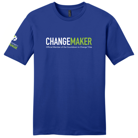 Countdown to Change Shirt