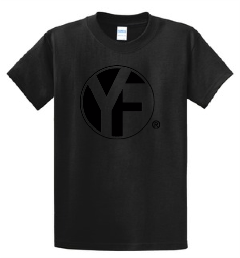 YF Tone-on-Tone T-shirt - Black