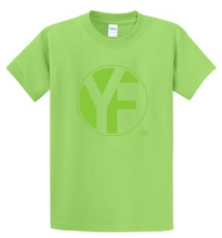 YF Tone-on-Tone T-shirt - Lime