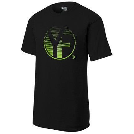 Youfit Green Ripple t-shirt