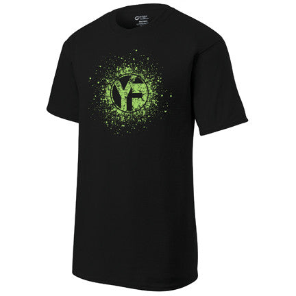 Youfit Splash Black shirt