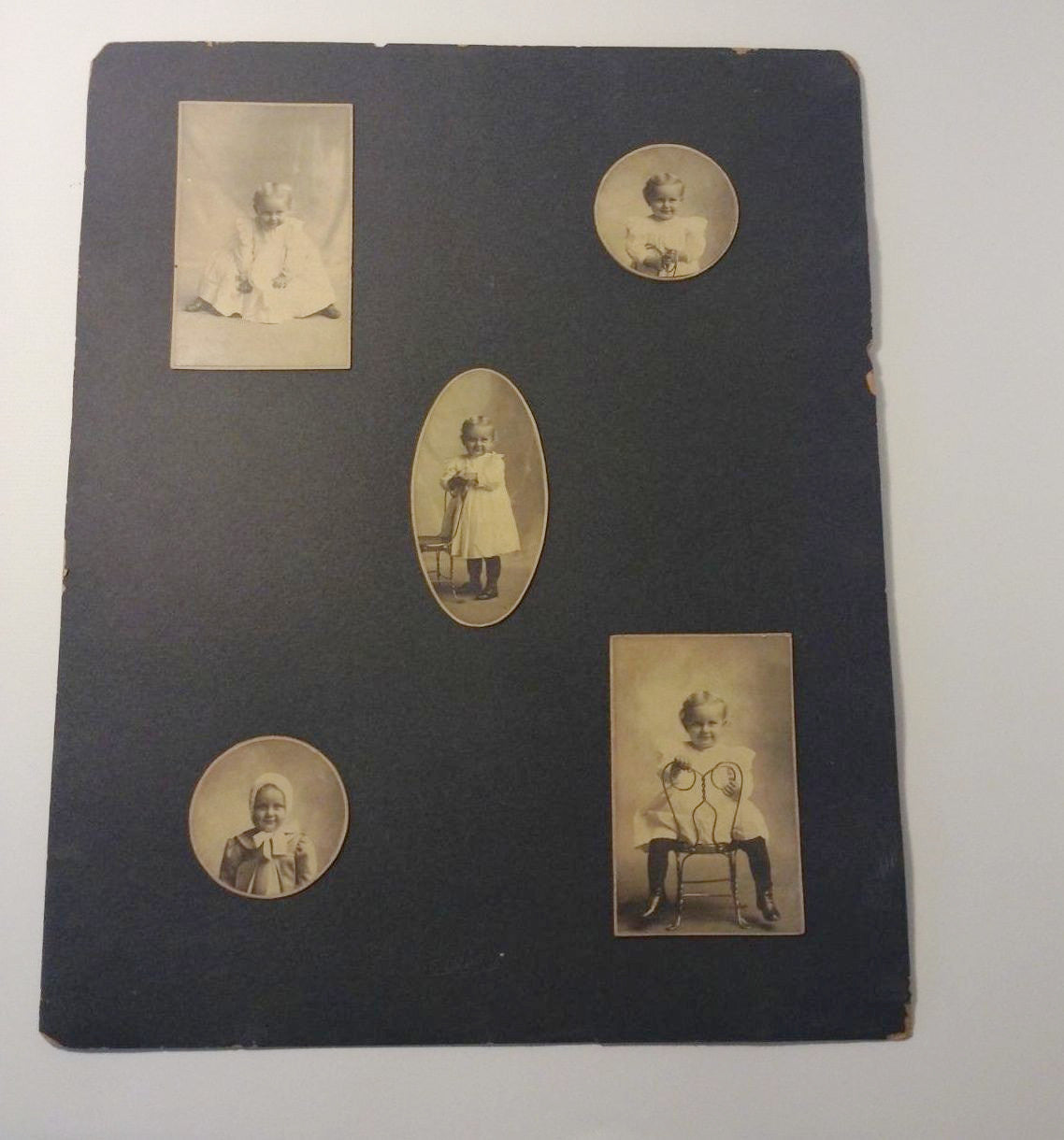Antique 1901 photographs Baby Photographs Early Century