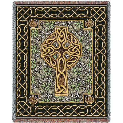 70x53 CELTIC CROSS Throw Blanket