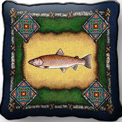 ~Set of 2~ FISH Lodge Pillows