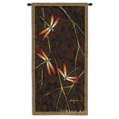 27x53 OCTOBER SONG I Dragonfly Wall Hanging