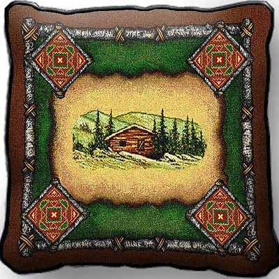 ~Set of 2~ CABIN Lodge Pillows