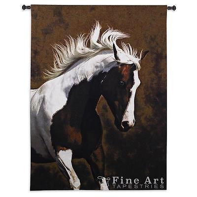 paint horse tapestry wall hanging