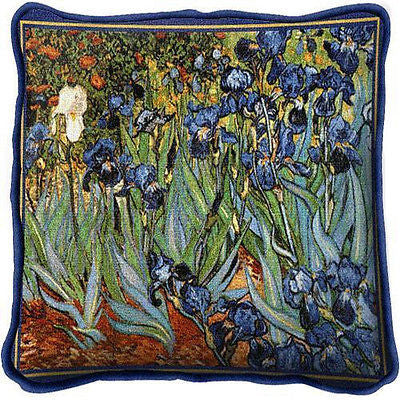 ~Set of 2~ IRISES Van Gogh Pillows