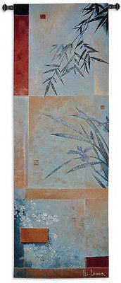 59x20 BLUE BREEZE Bamboo Tropical Tapestry Wall Hanging
