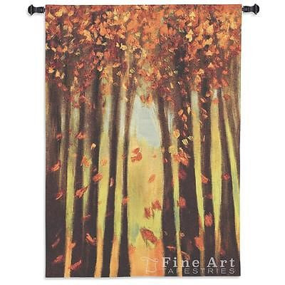 40x53 COLORS OF FALL II Autumn Tapestry Wall Hanging