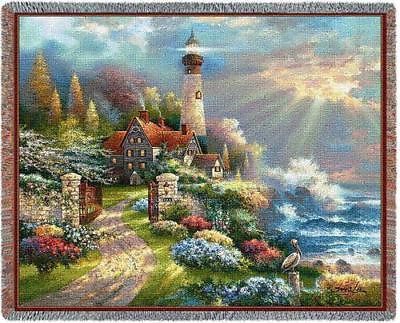 70x53 LIGHTHOUSE Throw Blanket