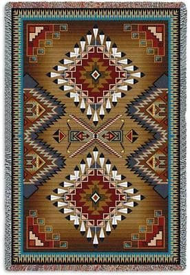 70x54 BRAZOS Southwest Throw Blanket
