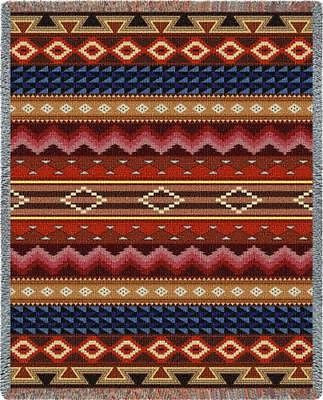 70x54 SOUTHWEST Geometric Throw Blanket