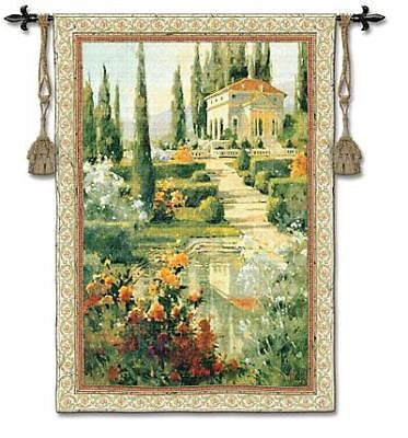 53x42 TUSCANY Estate Europe Italy Tapestry Wall Hanging