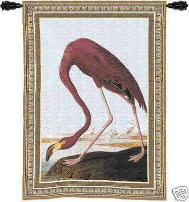 27x36 FLAMINGO Tropical Fine Art Tapestry Wall Hanging