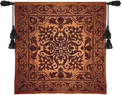 53x53 IRON WORK Fine Art Tapestry Wall Hanging